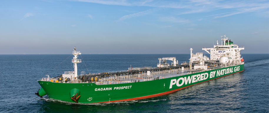 Sovcomflot switches to LNG fuel