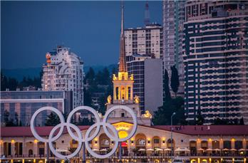 The capital of the Winter Olympics 2014 receives guests
